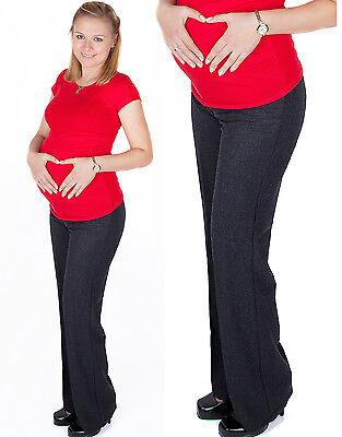 Elegant Formal Maternity Trousers Pants Classic Over Bump 8 10 12 14 16 18