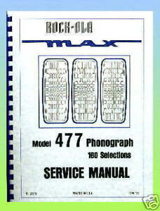 Rock-Ola-477-Jukebox-Service-Manual