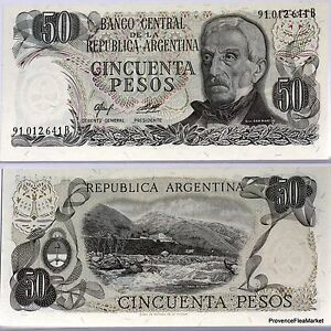 Argentine Billet Neuf 50 Pesos Belgrano Pick301b Avec Filaments Colores 4wfpq0xd-07214304-847994940