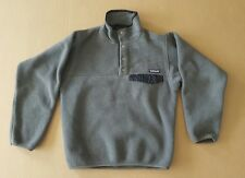 Vintage Men's Patagonia Synchilla Snap T Fleece Jacket Size XS Green Made in USA