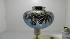 GORGEOUS-BLUE-GLASS-ART-NOUVEAU-OIL-TANK-FLORAL-DECORATION-14-039-039-039