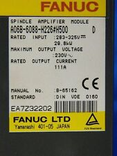 FANUC SPINDLE AMP A06B-6088-H226 #H500  w/ 6M WARRANTY & CORE CREDIT AVAILABLE!
