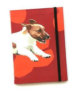 Jack Russell Design A6 Pocket Notepad  Notebook modern art Dog  Gift