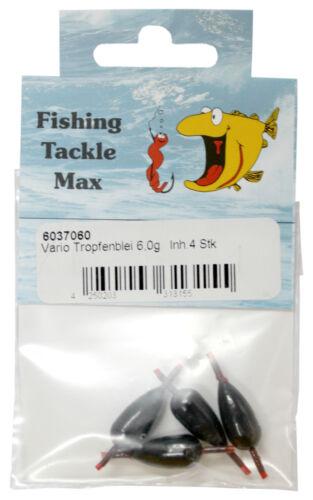 FTM Fishing Tackle Max Vario Tropfenblei verschiedene Gewichte Blei