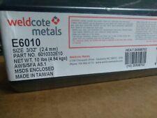 Weldcote 6010 Welding Rods 332 10 Lb Stick Electrodes E6010 332