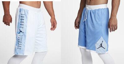 598a38d1f31f Nike Air Jordan Retro 11 Reversible Shorts AA2964-100 White Columbia Legend  Blue
