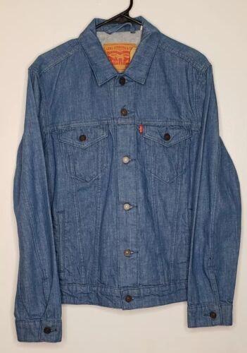 NEW Men/'s Levi/'s Light Blue Denim Jean Trucker Jacket 723340015 MEDIUM Coat $89