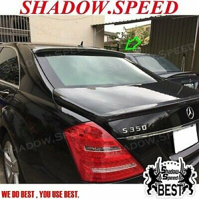 ABS L Type Rear Roof Spoiler Wing For Mercedes Benz E-Class W211 2002~05 Sedan
