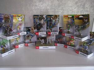 amiibo-The-Legend-of-Zelda-Figuren-WiiU-Spiel-CD-zum-aussuchen-Neu-amp-OVP