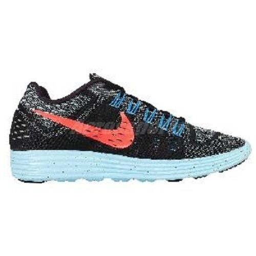 New Nike Lunartempo Black Blue Orange Womens Running Shoes Sneakers 705462-006 Brand discount