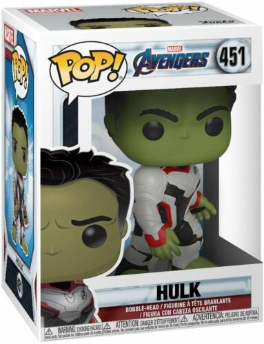 Hulk Collectible Figure 451 Funko 36659 POP Bobble Marvel Avengers Endgame