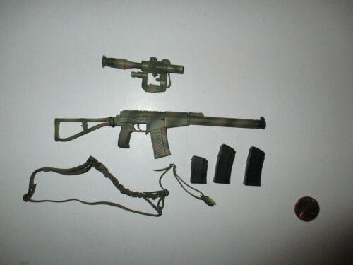 DAM Toys 1//6 Scale Russian Spetsnaz MVD SOBR Lynx 78059 8th Ann camo fusil