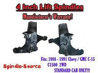 1988 -1991 Chevy / Gmc C15 C1500 Standard Cab 4 Lift Lifted Spindles Trucks