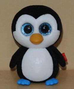 2 inch TY Beanie Boos Mini Boo WADDLES the Penguin Series 1 Collectible Figure