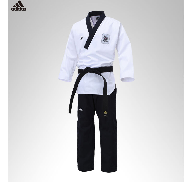 WTF Doboks Korean Adidas TaeKwonDo Poomsae Uniform Male TKD Uniforms Dan Dobok y