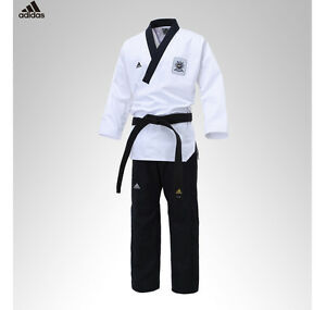 adidas taekwondo poomsae uniforme maschile tkd uniformi dan dobok wtf