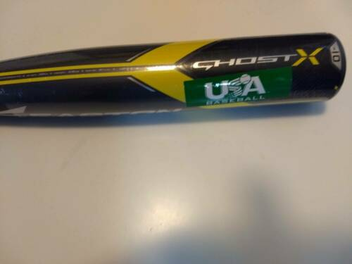 New Easton Ghost X 32in 22oz Youth Baseball Bat