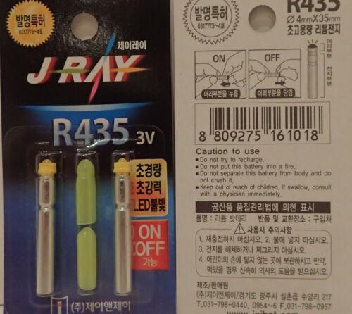 und aus schaltbar J RAY Batterielicht Farbe GELB ein