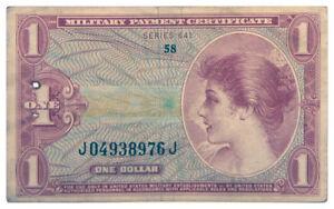 1965-1968-1-U-S-Military-Payment-Certificates-Vietnam-Era-Series-641-SKU54016