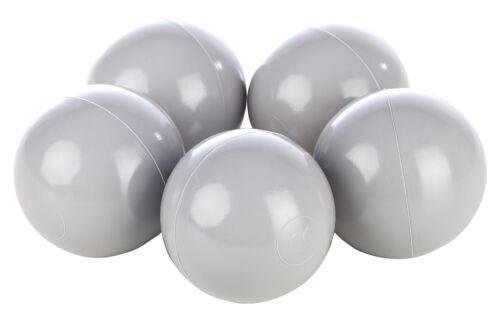 Set de 500 balles,boule colorée en plastique souple,Ø7cm,enfant,piscine,jouets