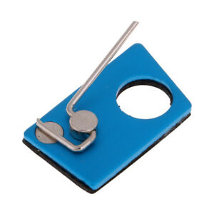 Archery Arrow Rest Recurve Bow Metal Left Hand Magnetic Adhesive Rest Blue