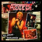 All Areas - Worldwide by Accept (CD, May-2014, 2 Discs, Hear No Evil (Cherry Red Label))
