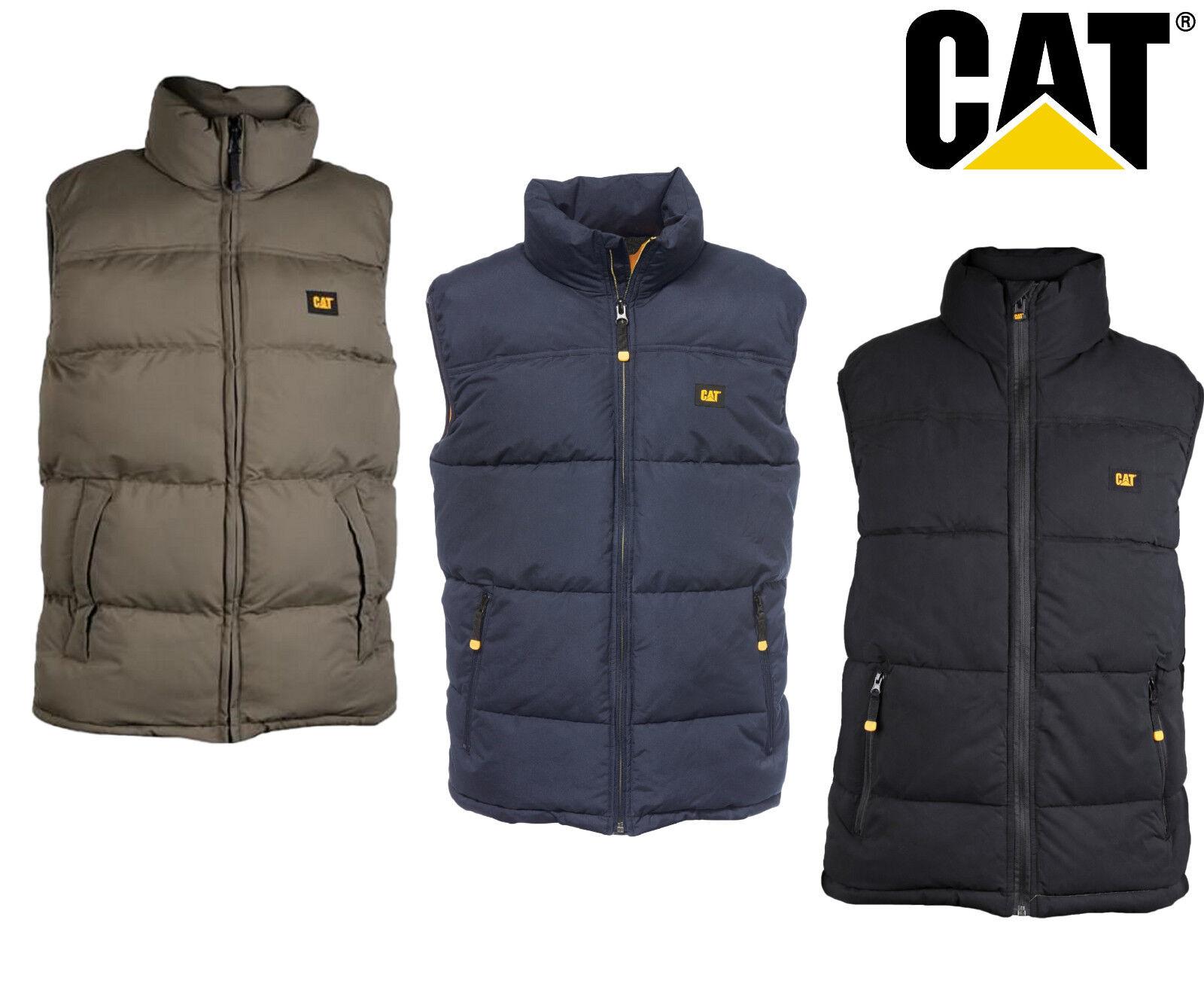 Cat// Caterpillar Instigator Water Resistant Vest Work Bodywarmer Gilet