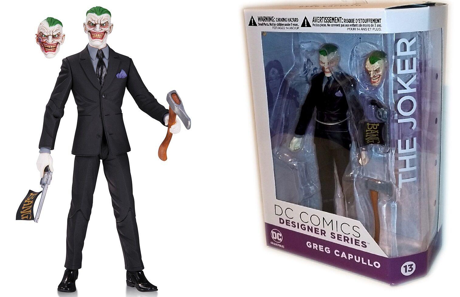 Dc collectibles batman joker designer greg capullo serie
