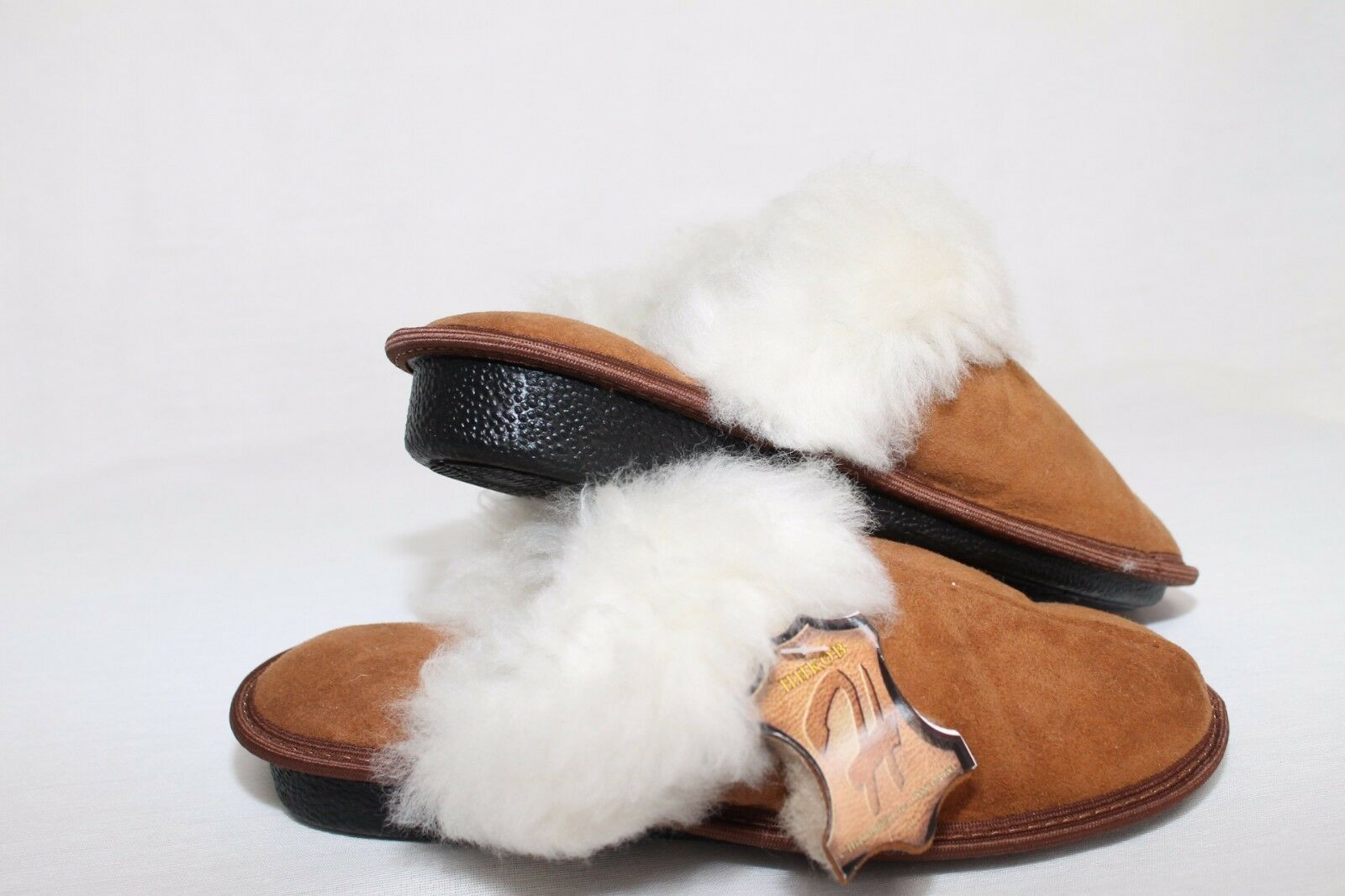 Women/Ladies Genuine Sheepskin Slippers/Mules 100% Real Fur. Height heel