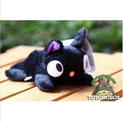 "Studio Ghibli KIKI'S DELIVERY SERVICE JIJI Cat Black Soft Plush Toys Dolls 5"""