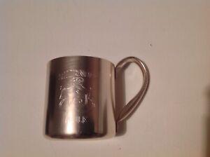 Vintage-Smirnoff-Mule-Copper-look-Mug-1970s-Home-Bar-Breweriana
