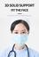 miniature 3 - Porte-masque respirant en Silicone 3D, Support de coussin intérieur