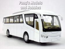 Coach Bus 1/64 (aprox) Scale Model by Kinsfun - WHITE/BLANK