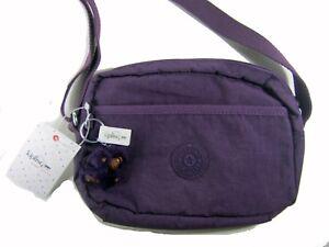 69888159d Image is loading Kipling-Neva-Small-Shoulder-Crossbody-Bag-HB7708-Purple-