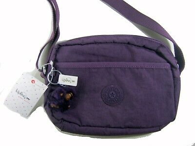 52906fc1c Details about Kipling Neva Small Shoulder Crossbody Bag HB7708 Purple New  NWT