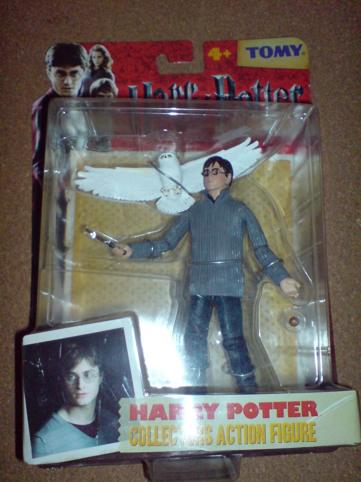 Harry Potter and the Deathly Hallows-Harry Potter Wave 1 Nuevo Muy Poco Común