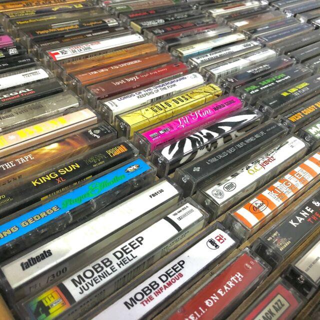 BUILD UR OWN Cassette Tape Lot - Rap Hip-Hop - Nas, Biggie, Wu, Jay-Z + More!!!