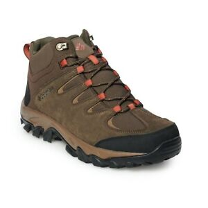 Cordovan 7.5 US Columbia Mens Buxton Peak MID Waterproof Wide Hiking Boot Rusty