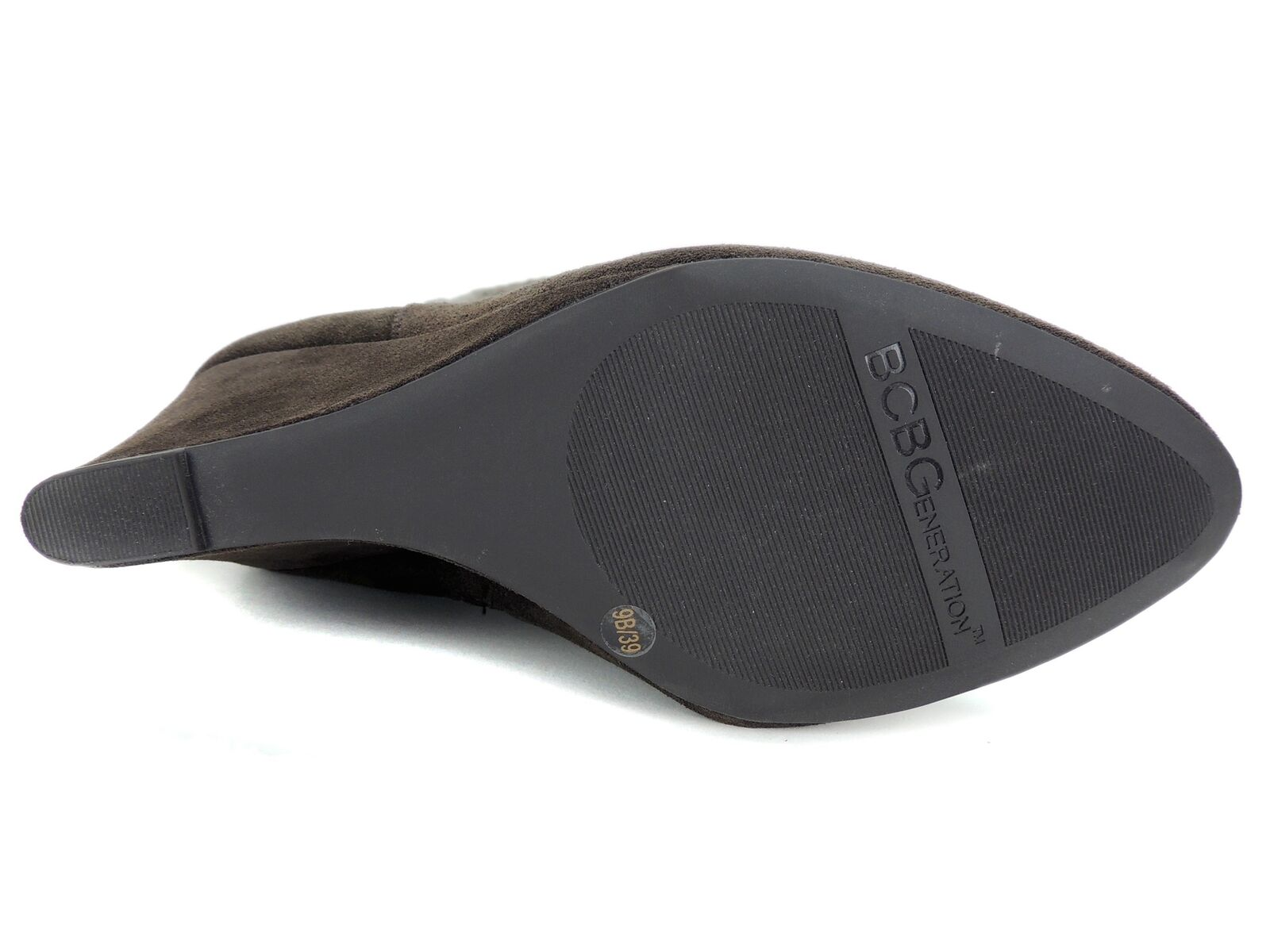 Bcbgeneration para mujer botas Becerro Becerro botas Moca De Gamuza Becerro Onyx Marrón Aceitoso Tamaño 9 M ee7825