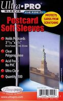 5,000 5000 Ultra Pro Premium Postcard Sleeves 3 11/16 X 5 3/4 Wholesale Lot