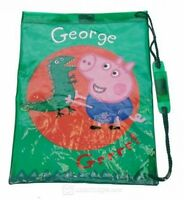 Peppa Pig George 'Dino' School Swim Bag Brand New Gift
