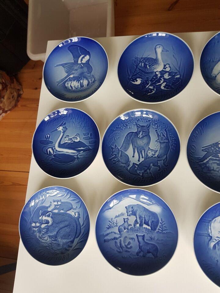 Porcelæn, Mors Dags Platter, Bing & Grøndahl
