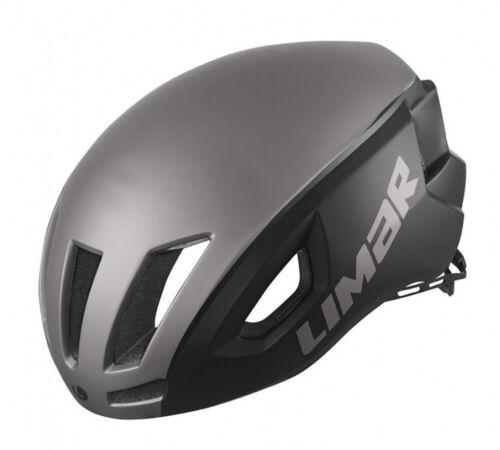 Limar Fahrrad Helm Fahrradhelm Air Speed mattschwarz//rot Gr.M 53-57cm
