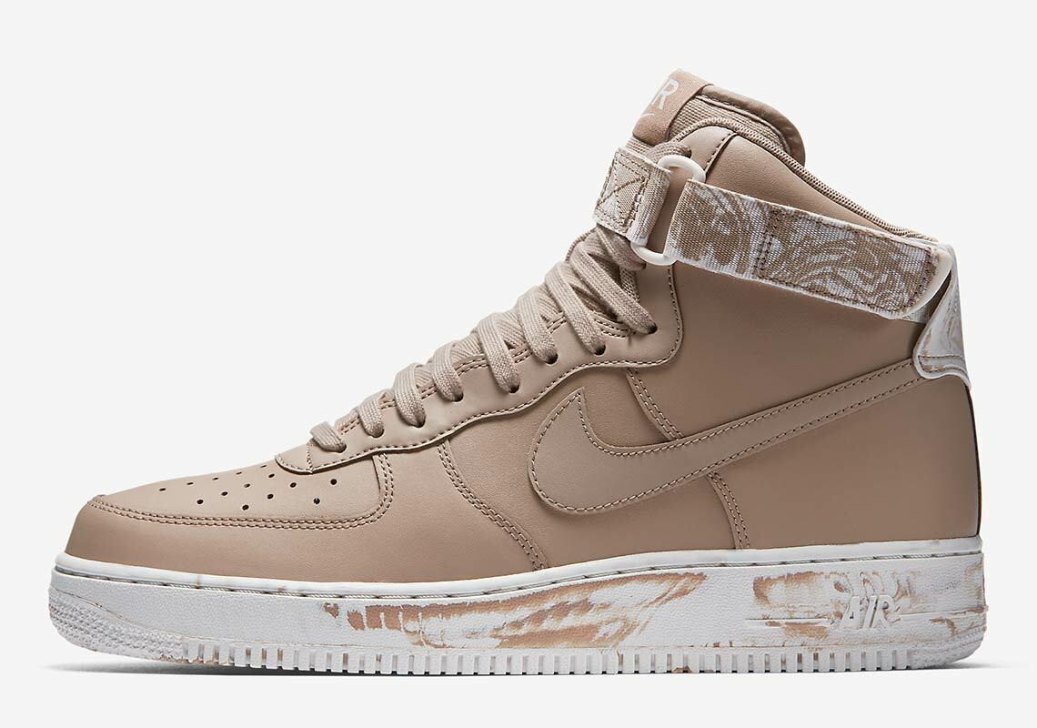 Nike Air Force Hoch '07 Lv8 Lthr Batik Mittelsohle 14 Sand