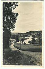 Torsby, Ljusnan vid Bersgang, RP, Unposted. Sweden, rural view, unpaved road