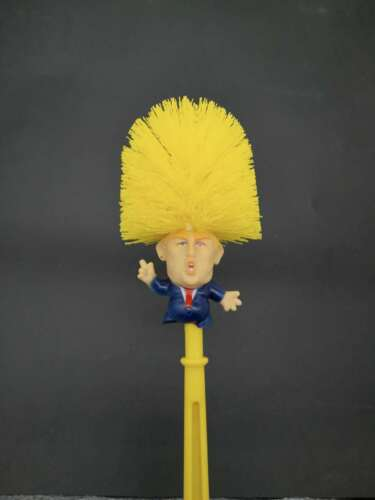Donald Trump Toilet Brush /& Paper Make Toilet Great Again Home Cleaning Tools