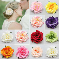 Rose Flower Bridal Hair Clip Wedding Hairpin/Brooch Bridesmaid Hair Accessorie