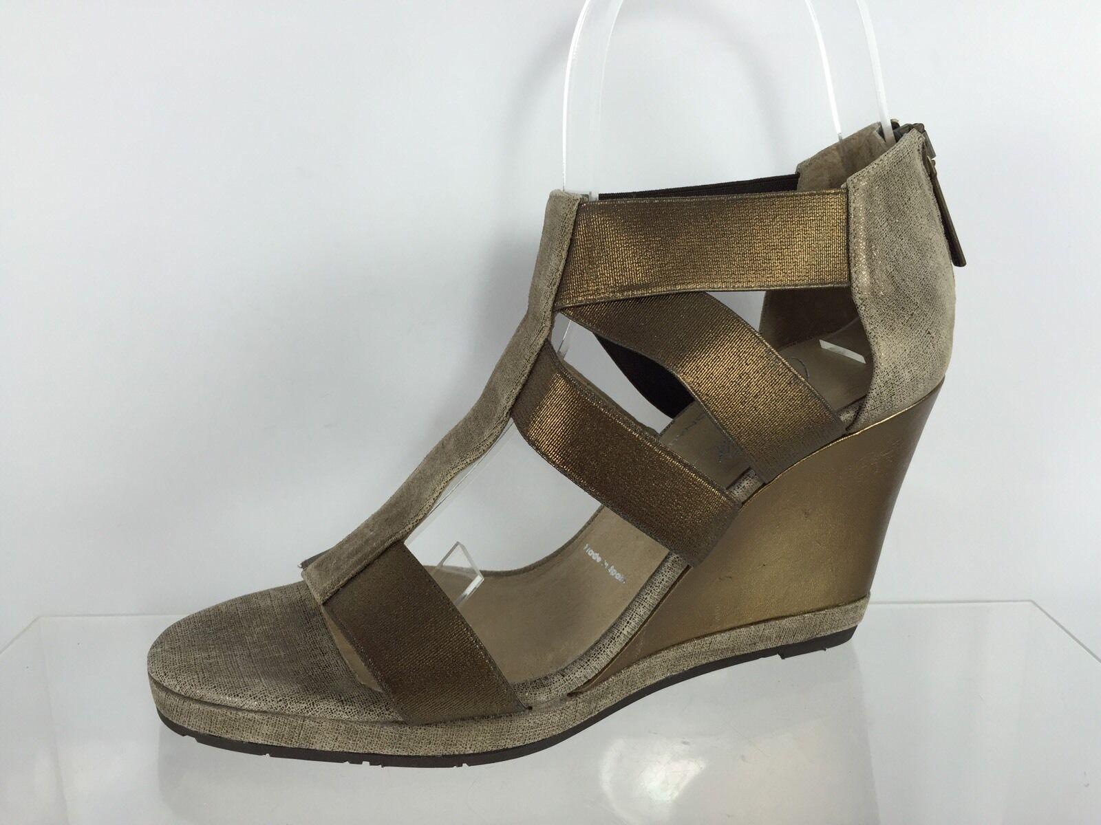 Donald J Pliner Damenschuhe Bronze/Beige Bronze/Beige Bronze/Beige Sandales 6 M 23a680