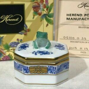 Herend-Frog-Fancy-Box-Bonnbonniere-06105-0-39-AB