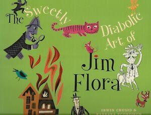 THE-SWEETLY-DIABOLIC-ART-OF-JIM-FLORA-2009-DREW-FRIEDMAN-WILLIAM-WEGMAN